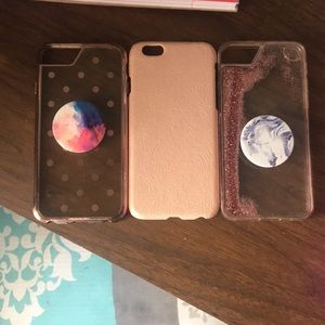 Accessories - 3 iPhone 6/6s cases